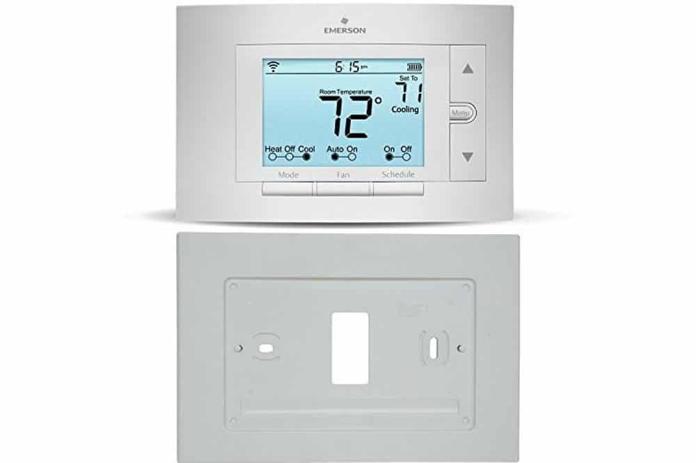 Emerson sensi up500w review programmable smart thermostat for Emerson sensi