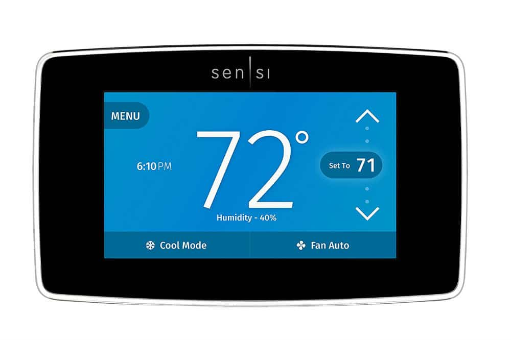 Emerson Sensi Touch Wi-Fi Thermostat with Touchscreen Color Display Review