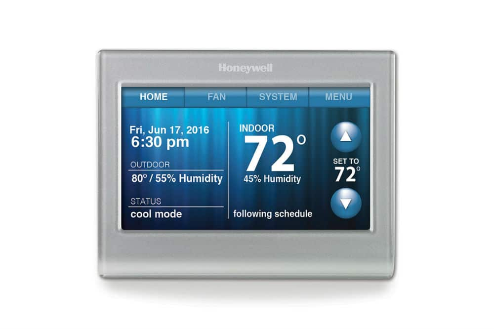 Honeywell RTH9580WF Smart Wi-Fi 7 Day Programmable Color Touch Thermostat Review