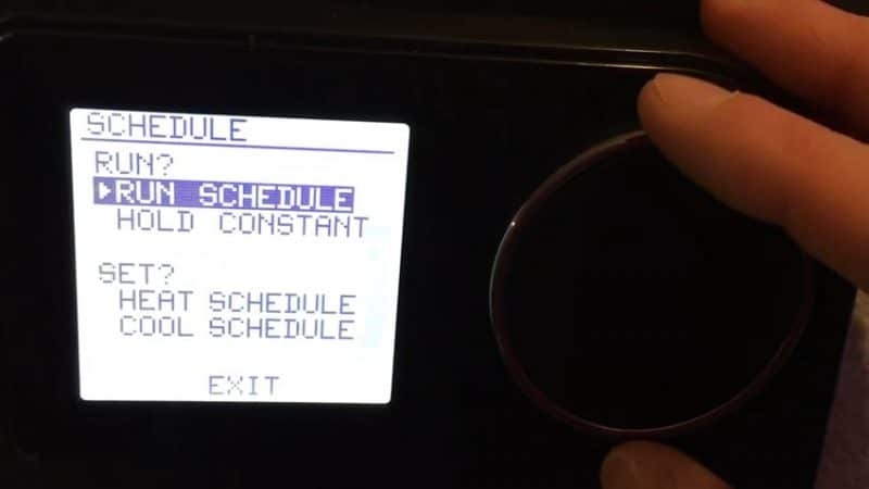 LUX GEO wifi thermostat Functionality review