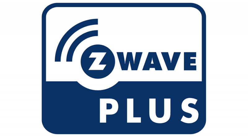 Z-wave Plus icon on Z-wave plus compatible devices