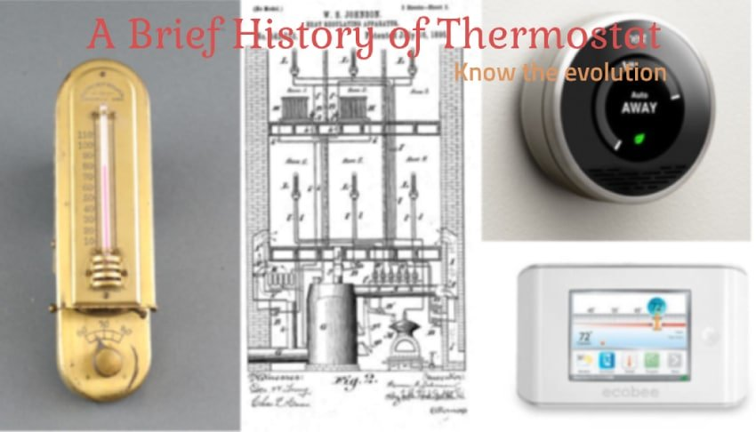 Evolution of Thermostat - Thermostat History.